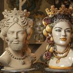 Teste di Moro Sicilian ceramic sculptures
